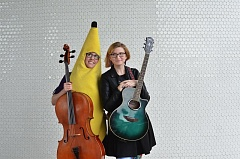COURTESY PHOTO BY JESSIE KIRK - Aubrey and Angela Webber comprise the self-described 'nerd' duo the Doubleclicks, who are making a stop in Tualatin this weekend on a 30-city tour.