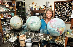 GARY ALLEN - The large supply of odds and ends adorning the shelves at Wine Country Antiques Mall are a testament to the store's duration: this month marked 30 years in business and owner Sharon Vo has worked at the shop for 28 of those years.