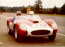 COURTESY PHOTO - Jerry Grant won the first Rose Cup race in 1961. For years, the Rose Cup Races were held during the peak weeks of the Rose Festival.