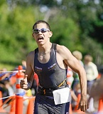 NEWS-TIMES FILE PHOTO - Marco Ramirez, a 2012 Forest Grove High School grad, competes in a triathlon in 2013. He continued his winning ways July 31 at the MidSummer Triathlon & Sports Festival in Fairview.