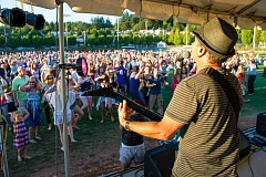 SUBMITTED PHOTO  - Journey tribute band Stone in Love will perform Wednesday night as the last Sounds of Summer concert for the season. The concert takes place at West Lake Park and begins at 6:30 p.m.