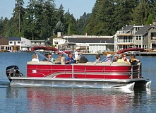 SUBMITTED PHOTO - Lake Oswego Preservation Society's Classic Houses and History Boat Tour offers participants unique, waterfront views of more than 50 beautiful homes. This year's tour is planned for Saturday, Sept. 10.