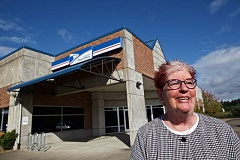 TIMES PHOTO: JAIME VALDEZ - Susan Noack, chairwoman of the Tualatin Area Aging Task Force, said she is very happy that the Tualatin Post Office won't be moving to Southwest Teton Avenue.