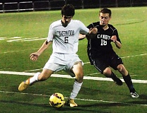DAN BROOD - Junior Noah Lafave (left) returns for the Sherwood boys soccer team this season.