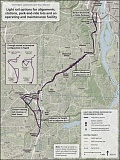 MAP COURTESY OF METRO - A MAX line from Portland to Tualatin is the centerpiece of the Southwest Corridor Plan, although an exact alignment has yet to be decided.