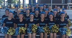 SUBMITTED PHOTO - Lakeridge will host its Homecoming Cheerleading Clinic from 4-6 p.m. Sept. 29 at the Lakeridge High School wrestling/cheer gym, 1235 Overlook Drive.
