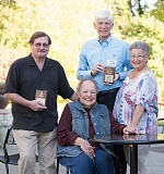 PHOTO COURTESY OF LEVI SIM PHOTOGRAPHY - Bill Korach (from left), Dee Denton, Paul Graham and Marci Nemhouser were honored Saturday by the Chamber of Commerce for playing key roles in the Leadership Lake Oswego program.