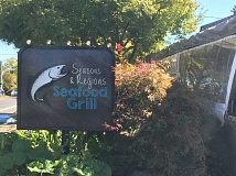 PHOTO COURTESY OF GEORGINA YOUNG-ELLIS - Seasons and Regions Seafood Grill in Hillsdale uses freshly caught seafood and locally grown produce.