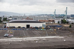 PORTLAND TRIBUNE: JONATHAN HOUSE - The City Council will consider funding the Terminal 1 homeless shelter lease Wednesday as new questions are surfacing over its fate.