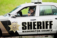 PAMPLIN MEDIA GROUP FILE PHOTO - The Washington County Sheriff's Office will be conducting a sting on drivers in Washington County on Tuesday, reminding them of the importance to move one lane over when passing emergency vehicles.