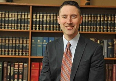 SPOKESMAN PHOTO: VERN UYETAKE - Dylan Hydes, who has practiced law for the past nine years, previously taught middle school social studies in San Jose, California.