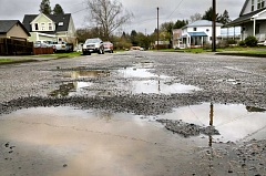 GRAPHIC FILE PHOTO - The Newberg City Council recently approved formation of a transportation utility fee, proceeds from which will go toward fixing the city's aging streets.