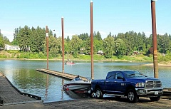 TIDINGS PHOTO: VERN UYETAKE - Work on the replacement of the Cedaroak Boat Ramp will begin during the in-water work period this summer, after July 1.