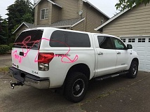 TIGARD POLICE - Tigard Police say vandals spray painted at least eight homes and cars in the Castle Hill neighborhood of Tigard early Thursday morning. The investigation is currently ongoing.