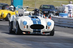 PORTLAND TRIBUNE: JEFF ZURSCHMEIDE - Historic race cars like this Shelby Cobra with compete at Portland International Raceway this weekend.