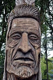 TRIBUNE FILE PHOTO - The Chief Kno-Tah statue at Shute Park has been named the best piece of public art in Hillsboro, according to voters. Shute Park walked away with several awards in the yearly competition.