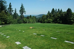 COURTESY PHOTO - Willamette National Cemetery on Southeast Mt. Scott Boulevard is now considered a historic site. The cemetery developed in 1950 for veterans and their families has been named to the National Register of Historic Places.