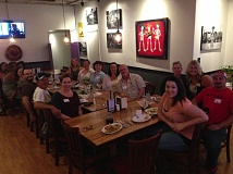 SUBMITTED PHOTO - Members of the Oregon City Grub Club took part in the first meeting of the group and enjoyed their meal at Don Pepes on Sept. 11 in Oregon City. The group is set up to share positive messages about local eateries.