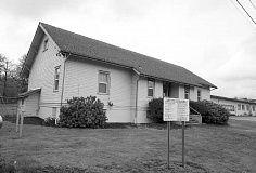 FILE PHOTO - The old Gales Creek Elementary School is now called Oak Grove Academy and houses special education students with severe needs. Local residents have been complaining the last two school years about students leaving during the day and wandering around on roads.