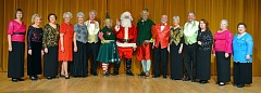 SUBMITTED PHOTO - Northwest Senior Theatres cast of Jingle, Jingle, Jingle will present a sleigh-ful of holiday favorites during its mid-November productions at the Alpenrose Diary Opera House.