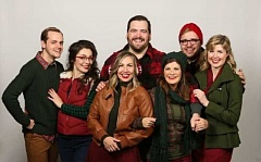 CRAIG MITCHELLDYER/BROADWAY ROSE THEATRE COMPANY - The cast includes of 'A Very Merry PDX-mas' includes many of Portland's finest musical theater talent: Collin Carver, Sarah DeGrave, Cassi Q Kohl, Isaac Lamb, Dru Rutledge, Benjamin Tissell, and Danielle Valentine.