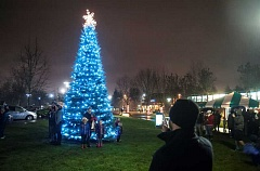 FILE PHOTO - Come take part in the annual Tree Lighting Ceremony Nov. 30 at Town Center Park.