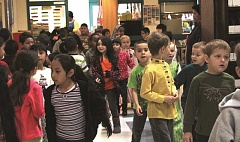 INDEPENDENT FILE PHOTO - Students at Heritage Elementary School in 2014. Recent data from the Oregon Health Authority show that nearly 1 in 5 students at Heritage are unvaccinated.