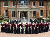 SUBMITTED PHOTO  - Marylhust Chamber Choir, under the direction of Justin Smith, director of choral activities at Marylhurst University, will present a program of seasonal songs at the Lake Oswego Womens Coalition meeting Dec. 21. All are invited to attend.
