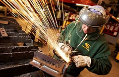 PHOTO COURTESY OF PCC - Portland Community College will resume hosting welding classes at Newberg High School from 6 to 9 p.m. Monday through Thursday beginning Jan. 9.