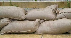 SUBMITTED PHOTO - Sand and bags will be available at Hazelia Field in Lake Oswego until the threat of flooding subsides.