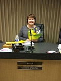 SUBMITTED PHOTO - Tammy Stempel took the oath of office as Gladstone's new mayor at last week's City Council meeting.