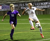 DAN BROOD - Sherwood High School senior Kailen Fried (right), shown here playing in the 2016 Class 6A state championship match, was named the Class 6A Player of the Year.