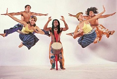 COURTESY PHOTO - Rainbow Dance Theatre uses African beats paired with dance to trace the roots of hip-hop.
