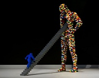 COURTESY: BRICKARTIST.COM - A very large exhibit of Nathan Sawaya's Lego art, 'The Art of the Brick,' will show at Oregon Museum of Science and Industry through May.