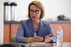 TRIBUNE FILE PHOTO - Oregon Attorney General Ellen Rosenblum has joined a state of Washington lawsuit to block President Trump's immigration travel ban.