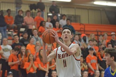 TIMES PHOTO: COREY BUCHANAN - Beaverton senior wing Jamie Sweatman and the Beavers crushed Barlow in the first round of the Class 6A playoffs and will play Southridge on Friday in the second round.