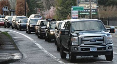 TIDINGS FILE PHOTO - Last week, West Linn announced it had received $3 million in regional flexible funds from Metro to complete construction on the first phase of its Highway 43 concept plan. That initial phase covers the northern end of the Highway 43 corridor.