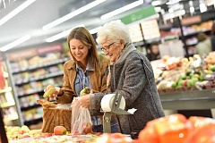 SUBMITTED PHOTO  - Volunteers at the Lake Oswego Adult Community Center are providing rides for seniors to the grocery store, plus help with shopping. Sign up for the free service now.