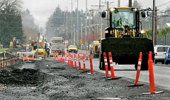 GARY ALLEN - Contractors will close a section of Springbrook Road for the next several months to allow for reconstruction of the thoroughfare to allow easier access to the Newberg-Dundee bypass.