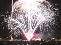 GARY ALLEN - The Newberg Old Fashioned Festival requested $5,000 for its annual fireworks display. Ultimately, the committee decided to award the festival $3,500.