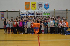 SPOTLIGHT PHOTO: NICOLE THILL - Students at Lewis and Clark Elementary School raised more than $3,600 for Jump Rope for Heart.