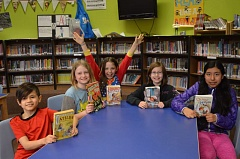 SPOTLIGHT PHOTO: NICOLE THILL - The 'Rainbow Readers' from Sauvie Island Academy took first place in their region during the annual Oregon Battle of the Books. The team will now compete at the state level in early April.