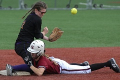 PAMPLIN MEDIA - Sandy and Hermiston clashed in the 5A softball playoffs last season. It is looking more likely that both of those schools will move up a level and join the Mount Hood Conference in 2018.