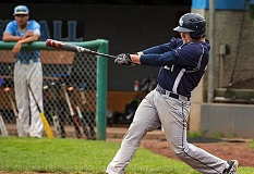 COURTESY LAKE OSWEGO BASEBALL - Lake Oswego's Sam Haney is back to lead the Lakers in his junior season after earning first-team all-Three Rivers League honors as an outfielder a year ago.