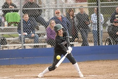 GRESHAM OUTLOOK: MATT RAWLINGS - Reynolds's Maya Phillips fouls the ball of in the Raiders 4-3 loss to Canby on Tuesday