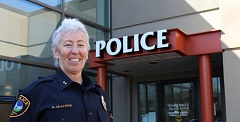 COURTESY OF THE CITY OF TIGARD - Tigard Police Chief Kathy McAlpine will have a reception in her honor on Tuesday evening, April 11.