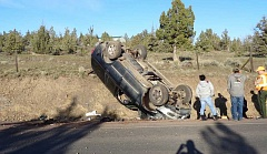 PHOTO COURTESY OF CROOK COUNTY SHERIFF'S OFFICE - Jeffrey Charles Shannon was injured in a car accident on Juniper Canyon Road Monday evening.
