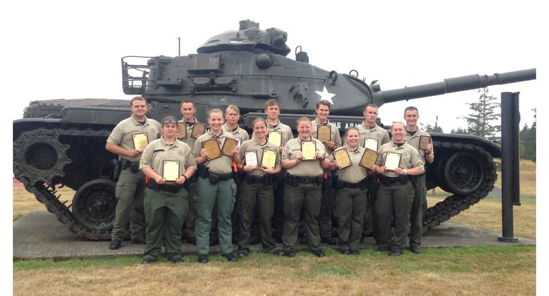 Pamplin Media Group - Law enforcement cadets earn awards at