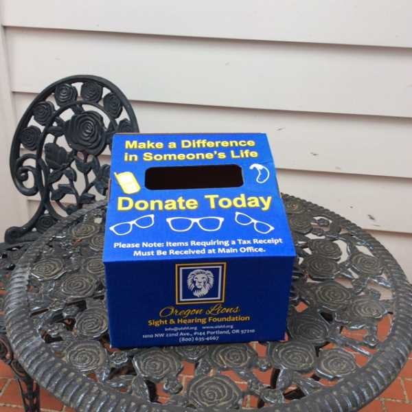 f620d85a7f70 SUBMITTED PHOTO - Look for the Lake Oswego Lions Clubs drop boxes in  businesses throughout the