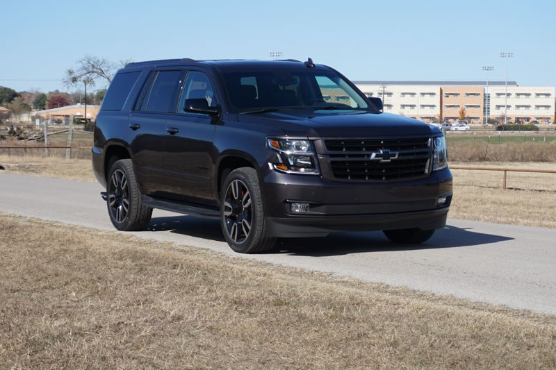 Pamplin Media Group Chevrolet Unveils Hot Rod Tahoe Rst For 2018